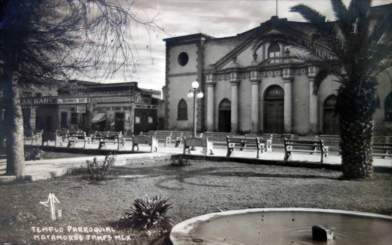 Templo Parroquial Matamoros.