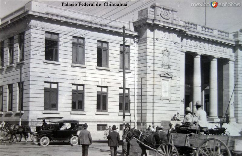 Palacio Federal de Chihuahua.