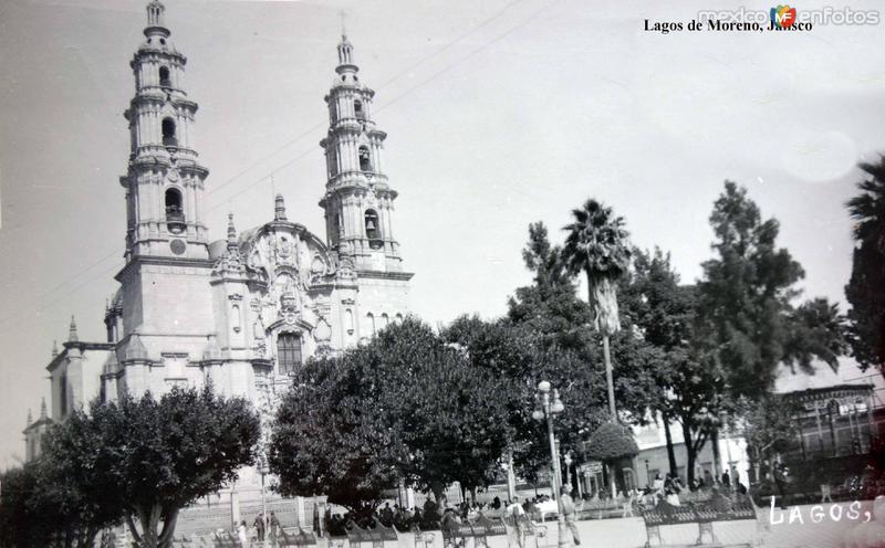 La Catedral de Lagos de Moreno, Jalisco .