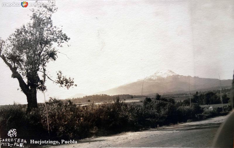 Carretera Mexico - Puebla.