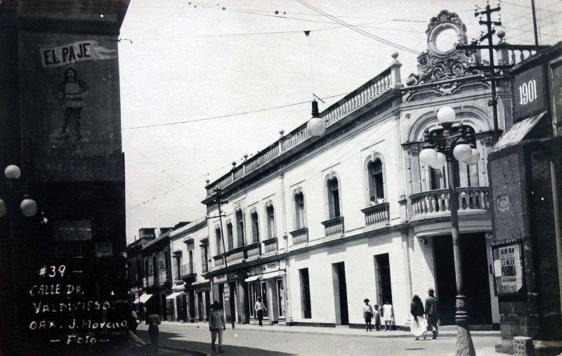Calle Doctor Valdivieso.