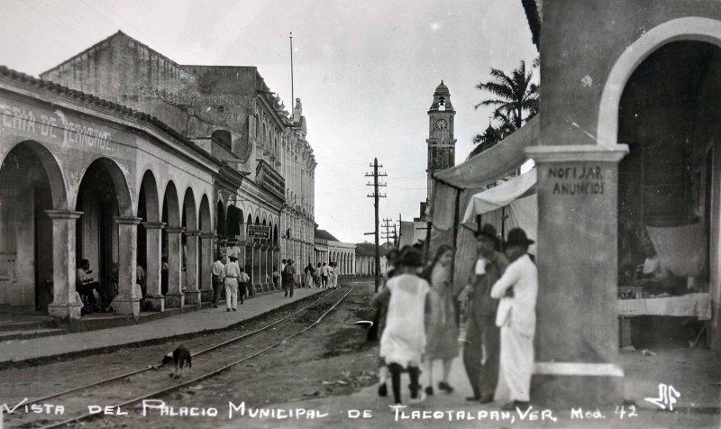 Vista del Palacio Municipal.