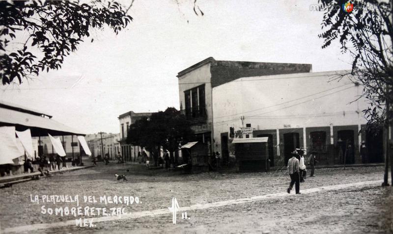 La Plazuela del Mercado.
