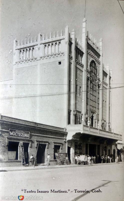 Teatro Isauro Martinez.