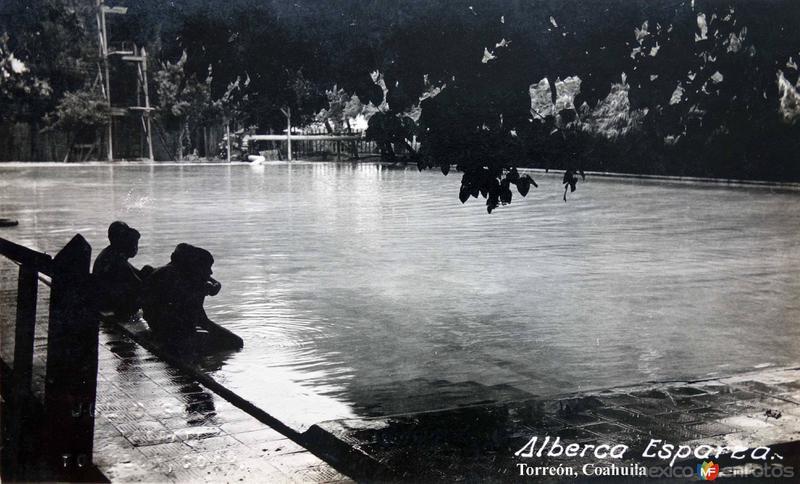 Alberca Esparza Torreón, Coahuila .