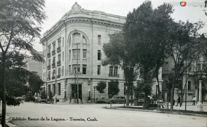 Edificio del Banco de La Laguna.