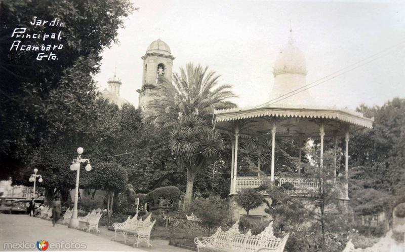 Jardin Principal.