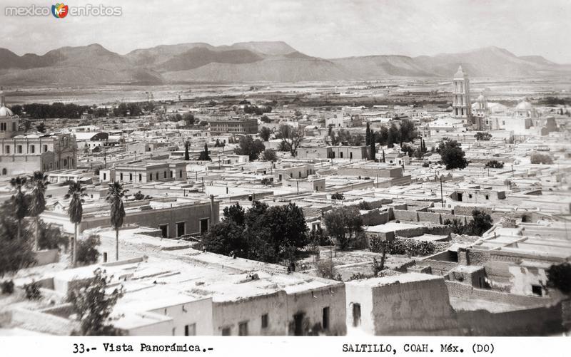 Vista panorámica de Saltillo