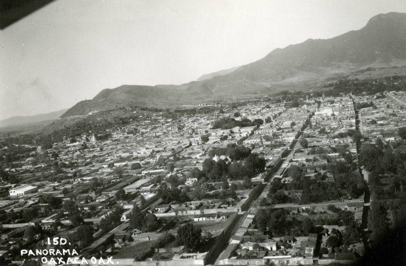 Vista aérea de Oaxaca