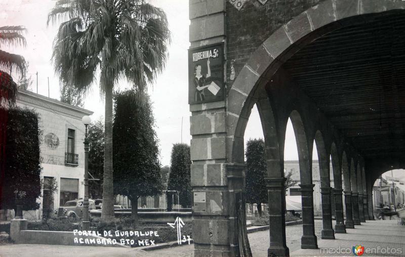 Portal de Guadalupe.