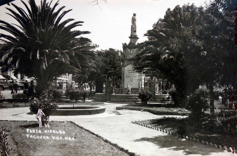 Plaza Hidalgo Pachuca.