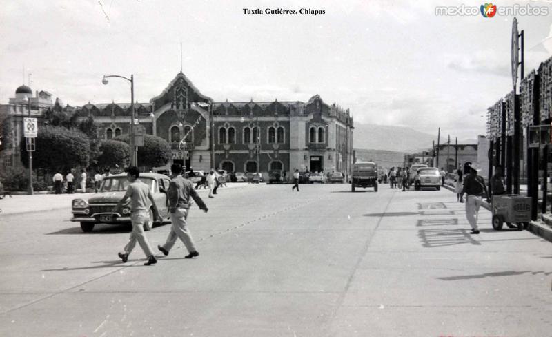 Escena callejera en Tuxtla Gutiérrez, Chiapas .