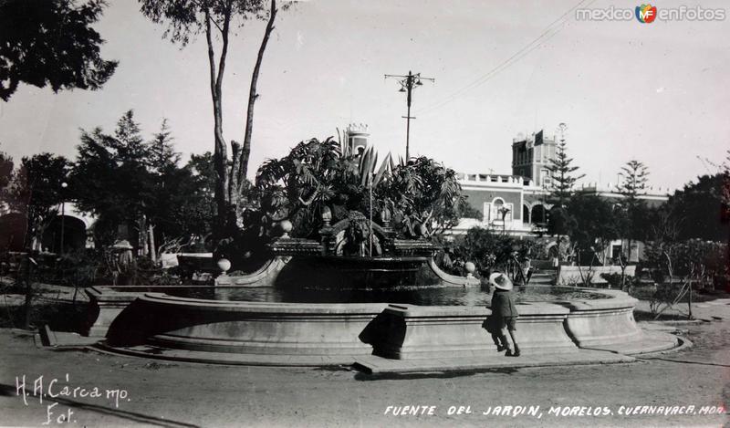Puente del jardin Morelos.