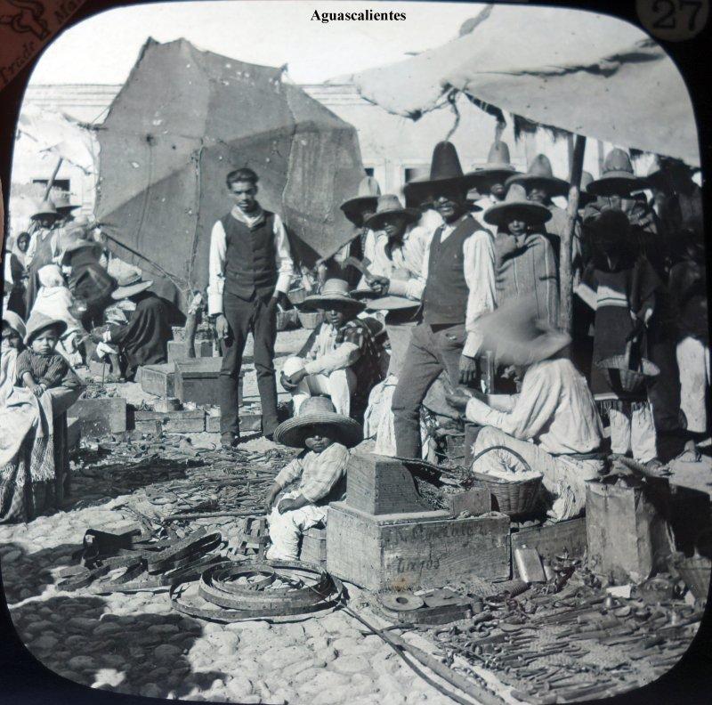 Dia de mercado en Aguascalientes.