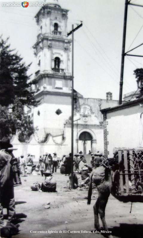 Convento e Iglesia de El Carmen Toluca, Edo. México.