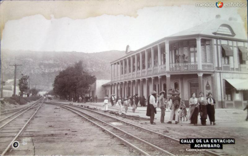 Calle de La Estacion.