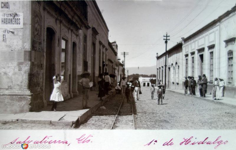 Primera de Hidalgo.