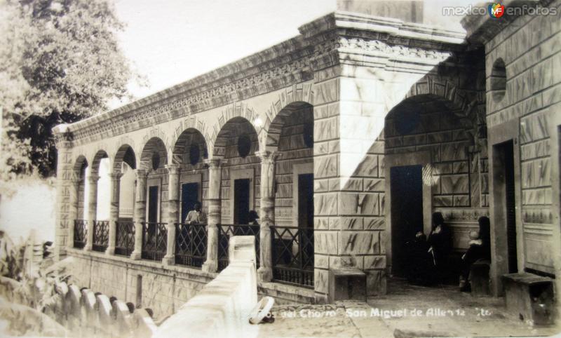 Banos de El Chorro de San Miguel de Allende, Guanajuato.