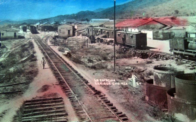 La Estacion. ( Circulada el 20 de Septiembre de 1944 ).