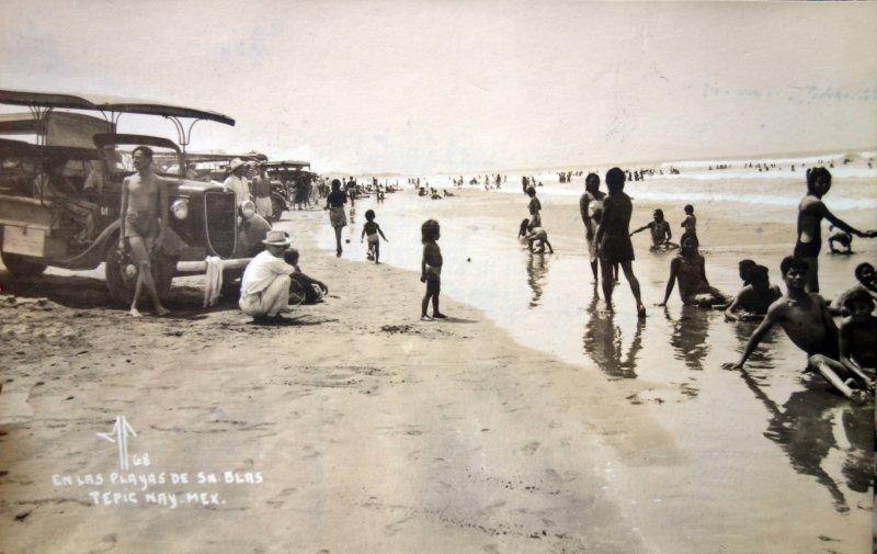 En las Playas.