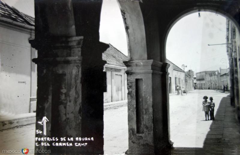 Portales de La Aduana.