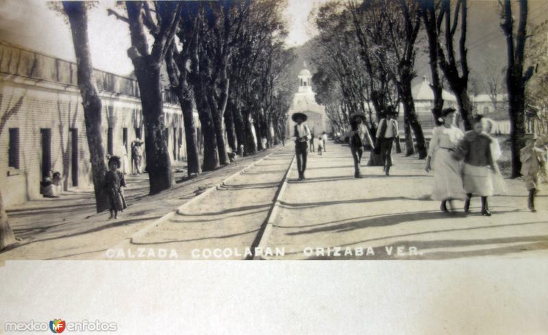 Calzada Cocolapan.