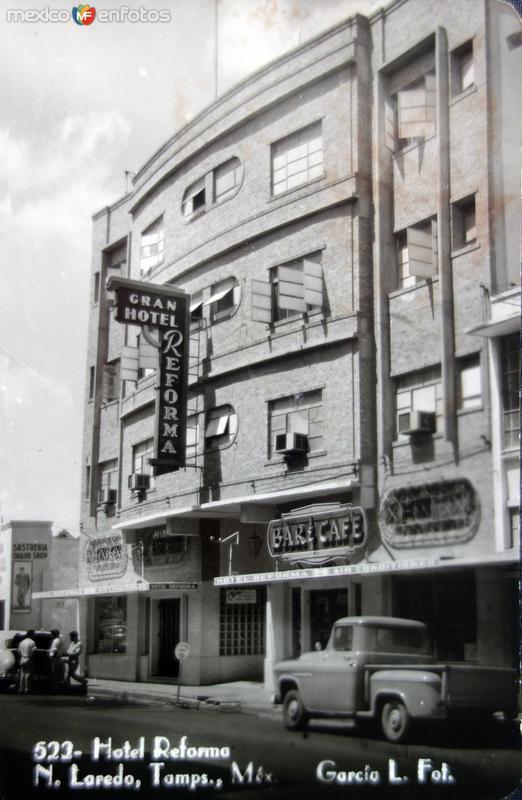 Hotel Reforma ( Circulada el 15 de Agosto de 1956 )