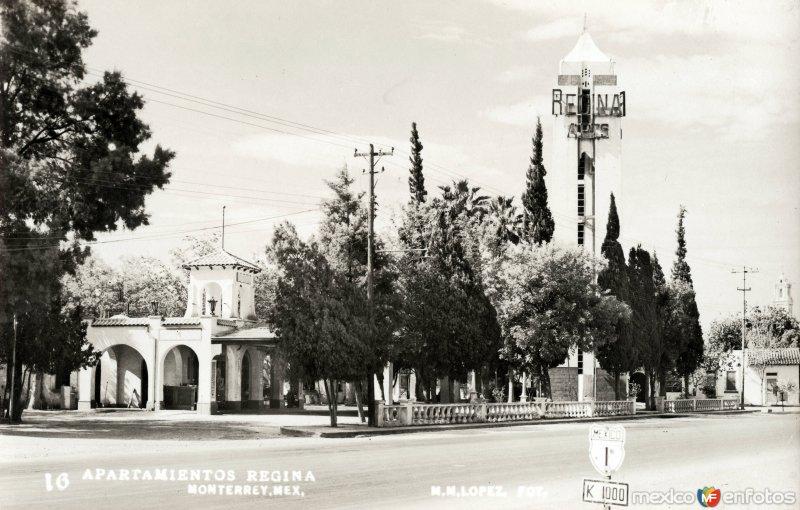 Departamentos Regina, en el Km. 1 de la carretera federal México-1
