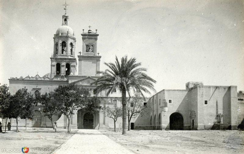 Ex convento y templo de la Cruz