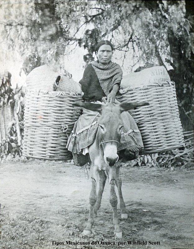 Una vendedora por Fotógrafo Winfield Scott.