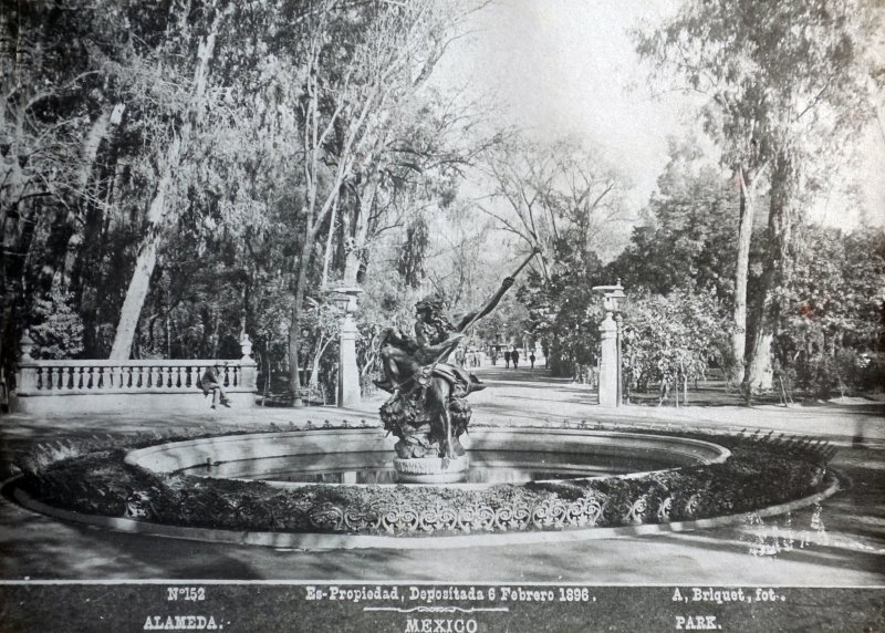 La Alameda  por el Fotógrafo Abel Briquet.