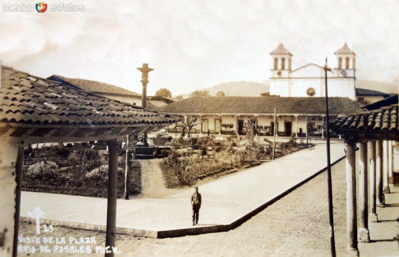 Vista de La Plaza de Santo Domingo.