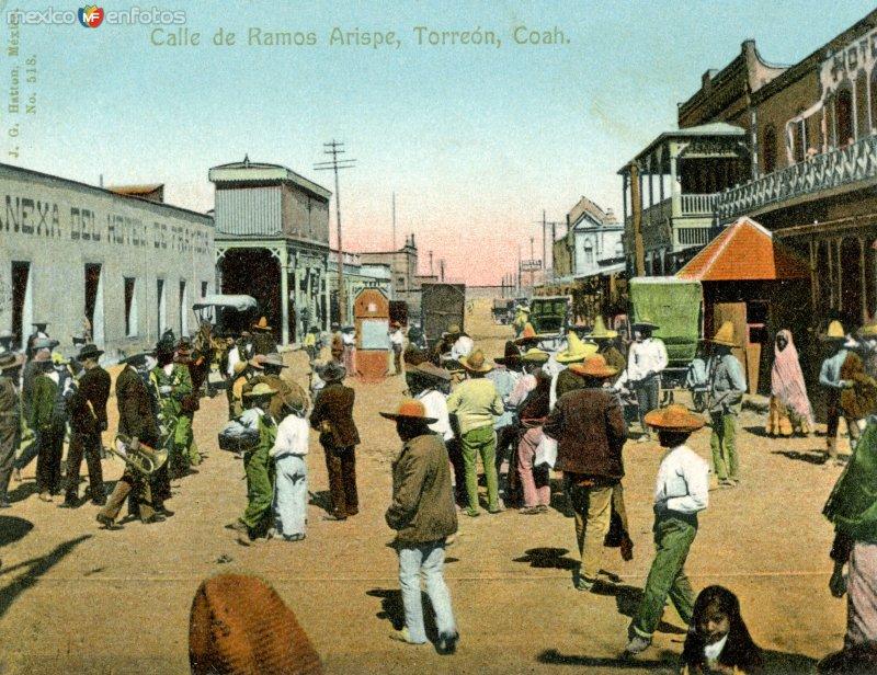 Calle Ramos Arispe