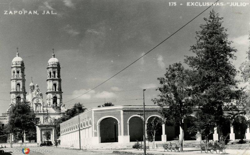 Portales  e iglesia de Zapopan
