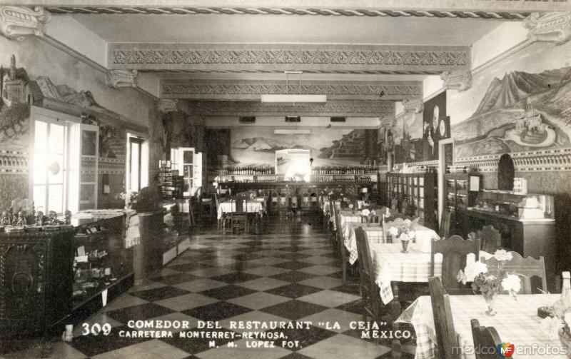 Comedor del restaurante La Ceja