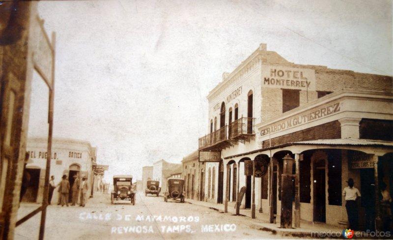 iCampo de Matamoros ( Circulada el 27 de Febrero de 1927 ) .