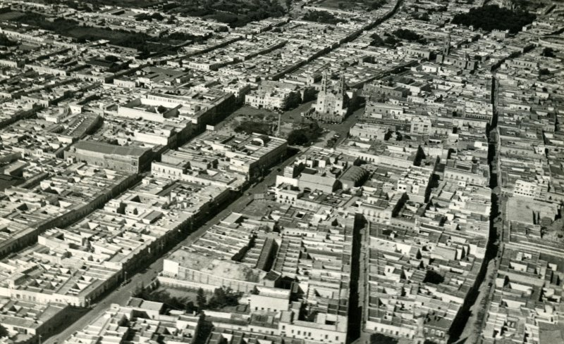 Vista aérea de Aguascalientes