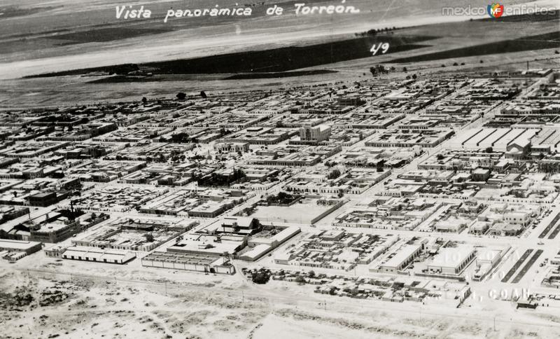 Vista aérea de Torreón