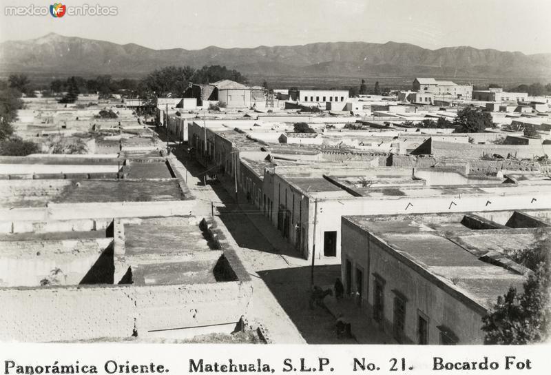Vista panorámica al oriente de Matehuala