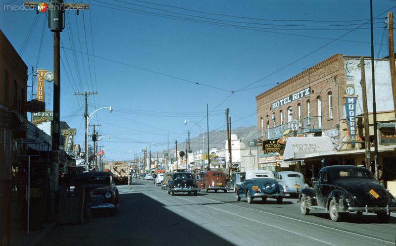 Avenida Juárez y Hotel Ritz (c. 1948)