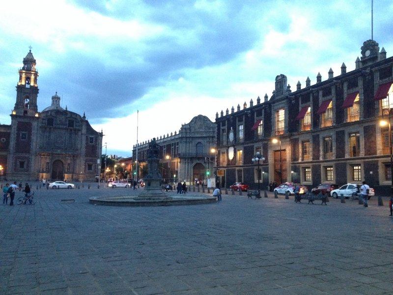 Plaza de Santo Domingo. Julio/208