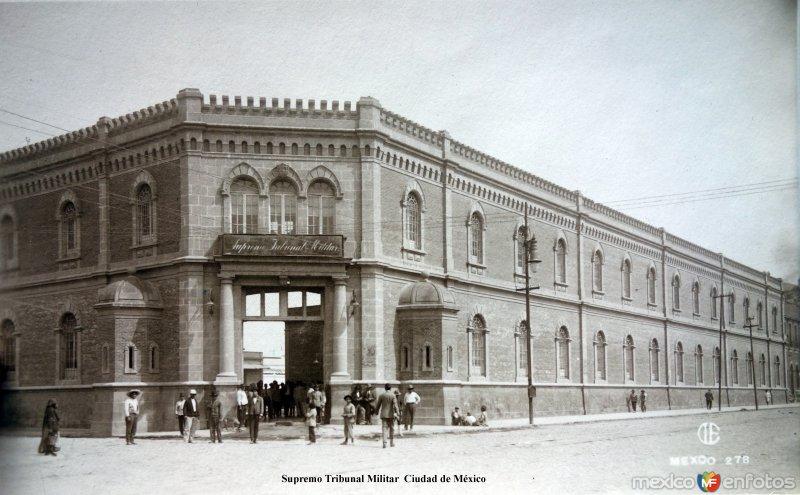Supremo Tribunal Militar  Ciudad de México.