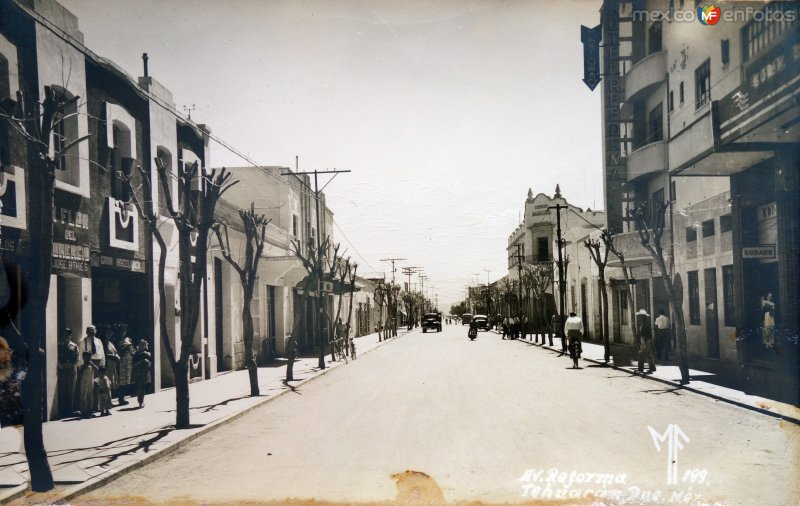 Avenida Reforma.