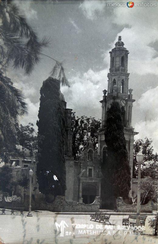 Templo de San Salvador.