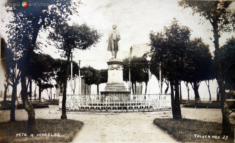 Monumento a Morelos.