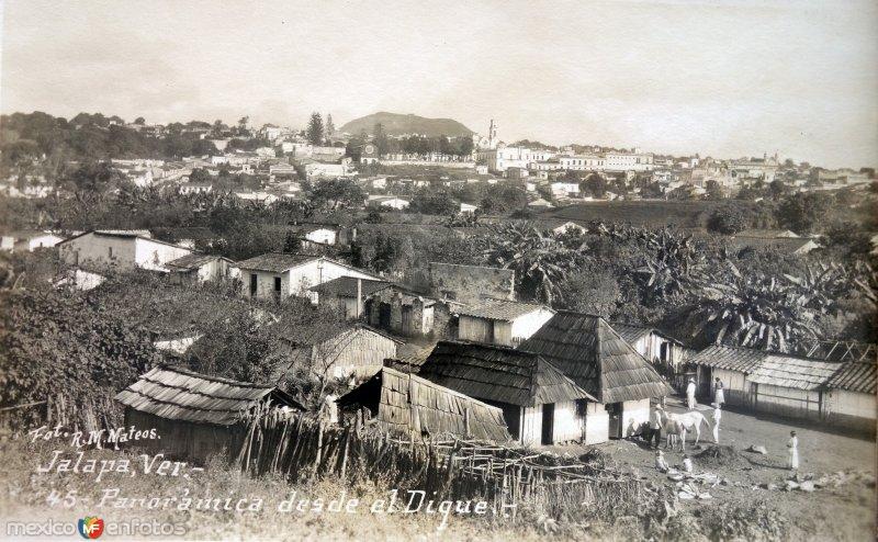 Panoramica desde el dique Xalapa Veracruz.
