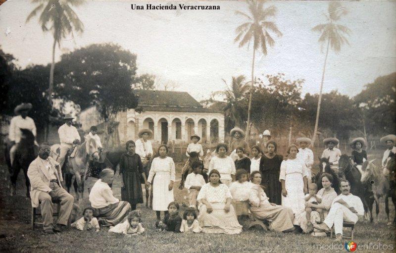 Una Hacienda Veracruzana.