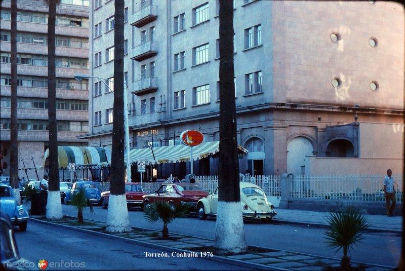 Escena callejera 1976.