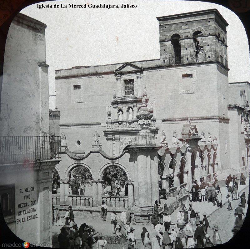 Iglesia de La Merced Guadalajara, Jalisco.