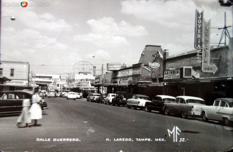 Calle Guerrero Nuevo Laredo